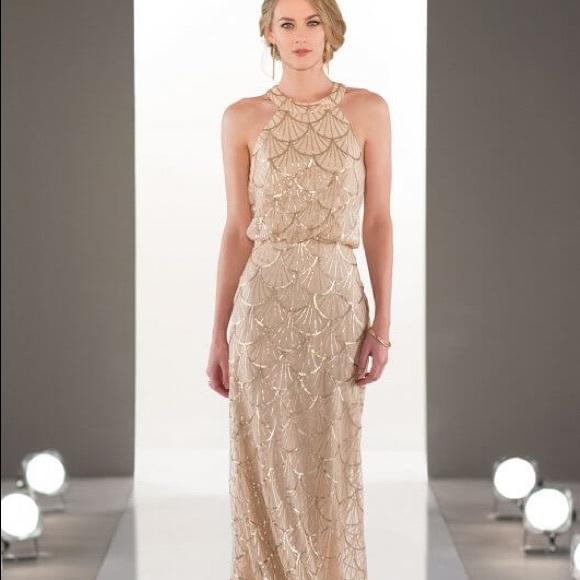 SORELLA VITA Dresses & Skirts - Sorella Vita 9060 size 12 rose gold.  Shop sample